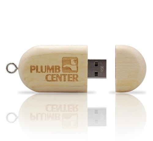 UGV 003 - USB Gỗ Nắp Đẩy