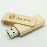 UGV 027 - USB Gỗ Xoay