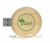 UGV 010 - USB Gỗ Tròn