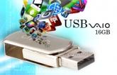 USX 004 - USB SONY VAIO Nắp Xoay 16GB