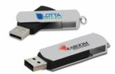 KTX 02 - USB Kim Loại Xoay